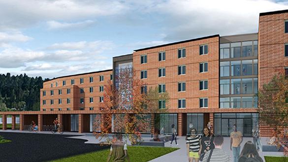 rendering of residential community