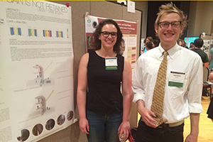 Haley Davis and Robert Kiesler