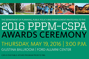 2016 PPPM_CSPA Awards Ceremony