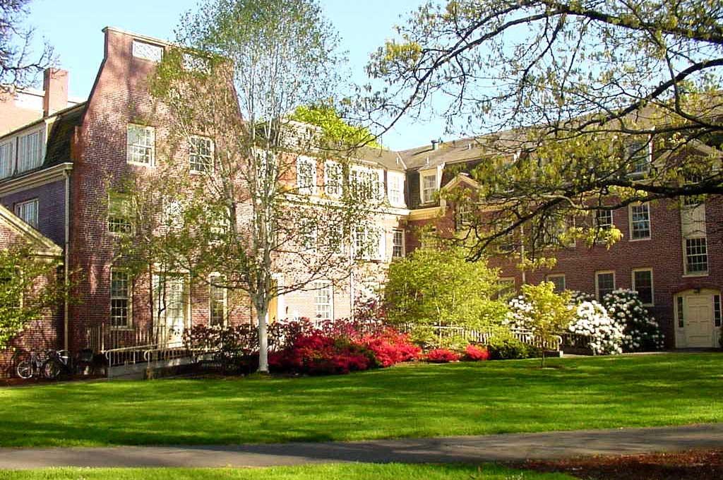 Hendricks Hall in summer