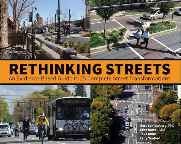 Rethinking Streets book cover