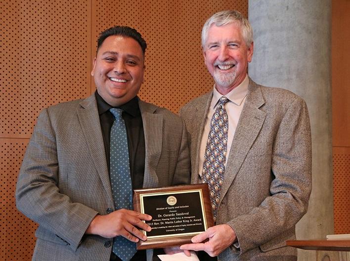Sandoval MLK Award