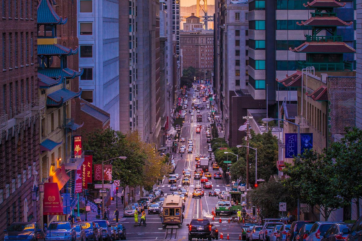 photo of San Francisco street