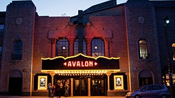 The Avalon Theater in Milwaukie, Oregon.